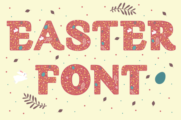 Print on Demand: Easter Display Font By yai.salinas