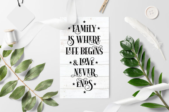 Download Free Family Is Where Life Begins And Love Never Ends Quote Cut File for Cricut Explore, Silhouette and other cutting machines.