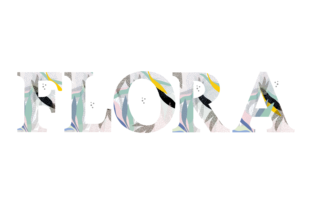 Print on Demand: Flora Color Fonts Font By yai.salinas
