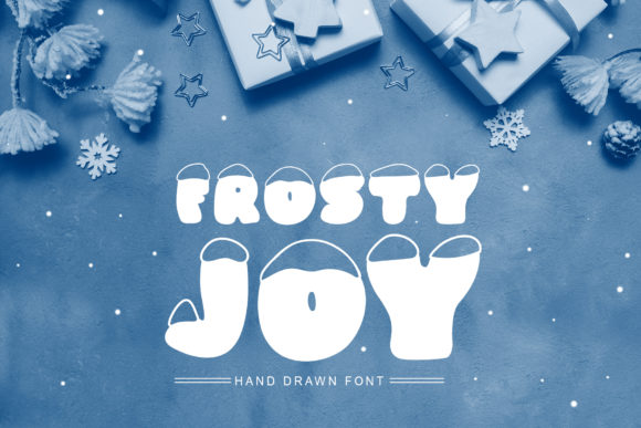 Print on Demand: Frosty Joy Display Font By Happy Letters
