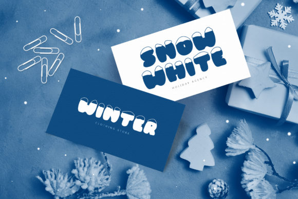 Print on Demand: Frosty Joy Display Font By Happy Letters - Image 2