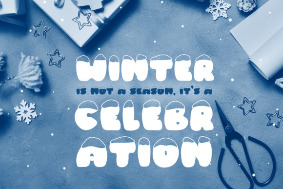Print on Demand: Frosty Joy Display Font By Happy Letters - Image 5