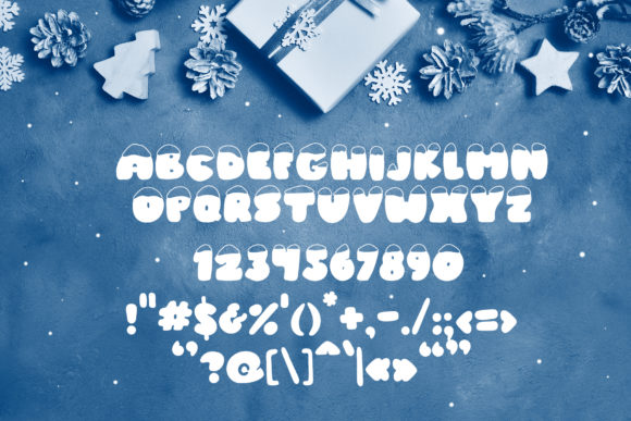 Print on Demand: Frosty Joy Display Font By Happy Letters - Image 6