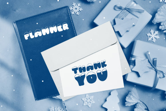 Print on Demand: Frosty Joy Display Font By Happy Letters - Image 8