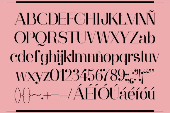 Print on Demand: Ginebra Serif Font By yai.salinas - Image 2