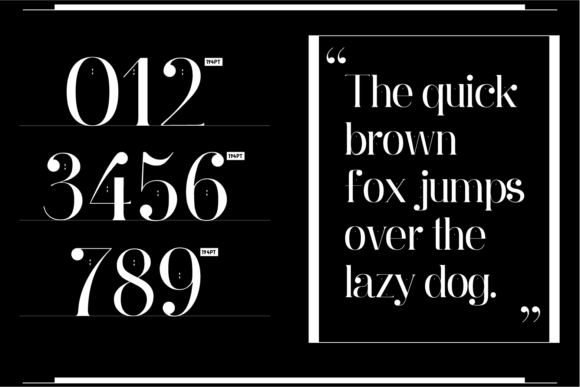 Print on Demand: Ginebra Serif Font By yai.salinas - Image 9