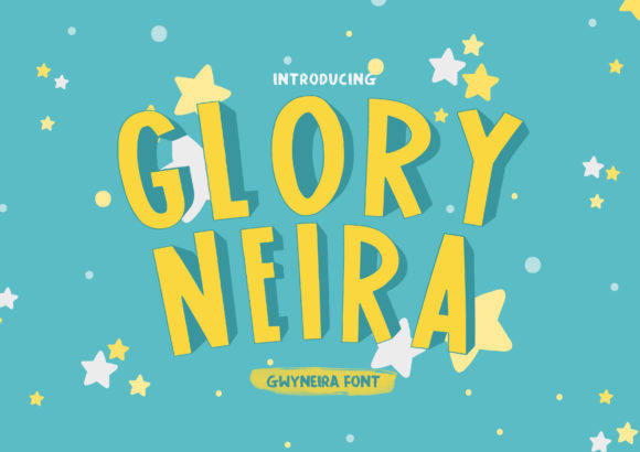 Print on Demand: Glory Neira Sans Serif Font By a.gwyneira