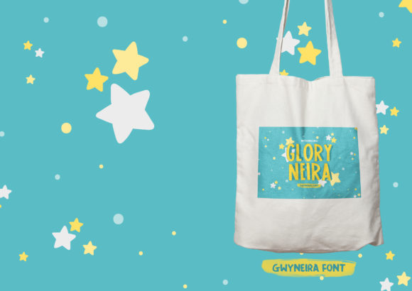 Print on Demand: Glory Neira Sans Serif Font By a.gwyneira - Image 3