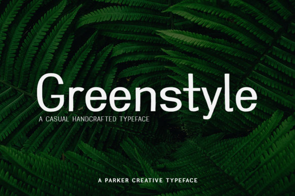 Print on Demand: Greenstyle Sans Serif Font By aparker1988