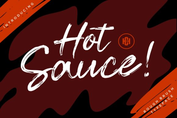 Print on Demand: Hot Sauce Script & Handwritten Font By HansCo