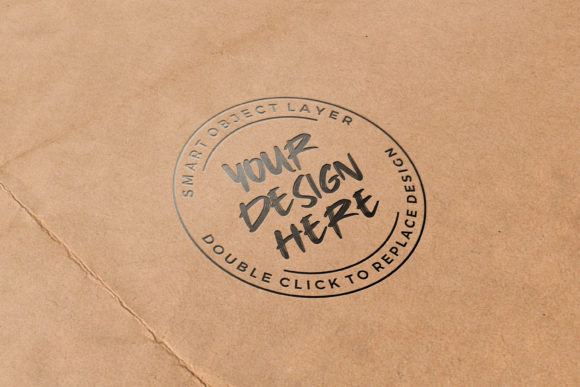 Letterpress on Paper Mockup Graphic Product Mockups By suedanstock