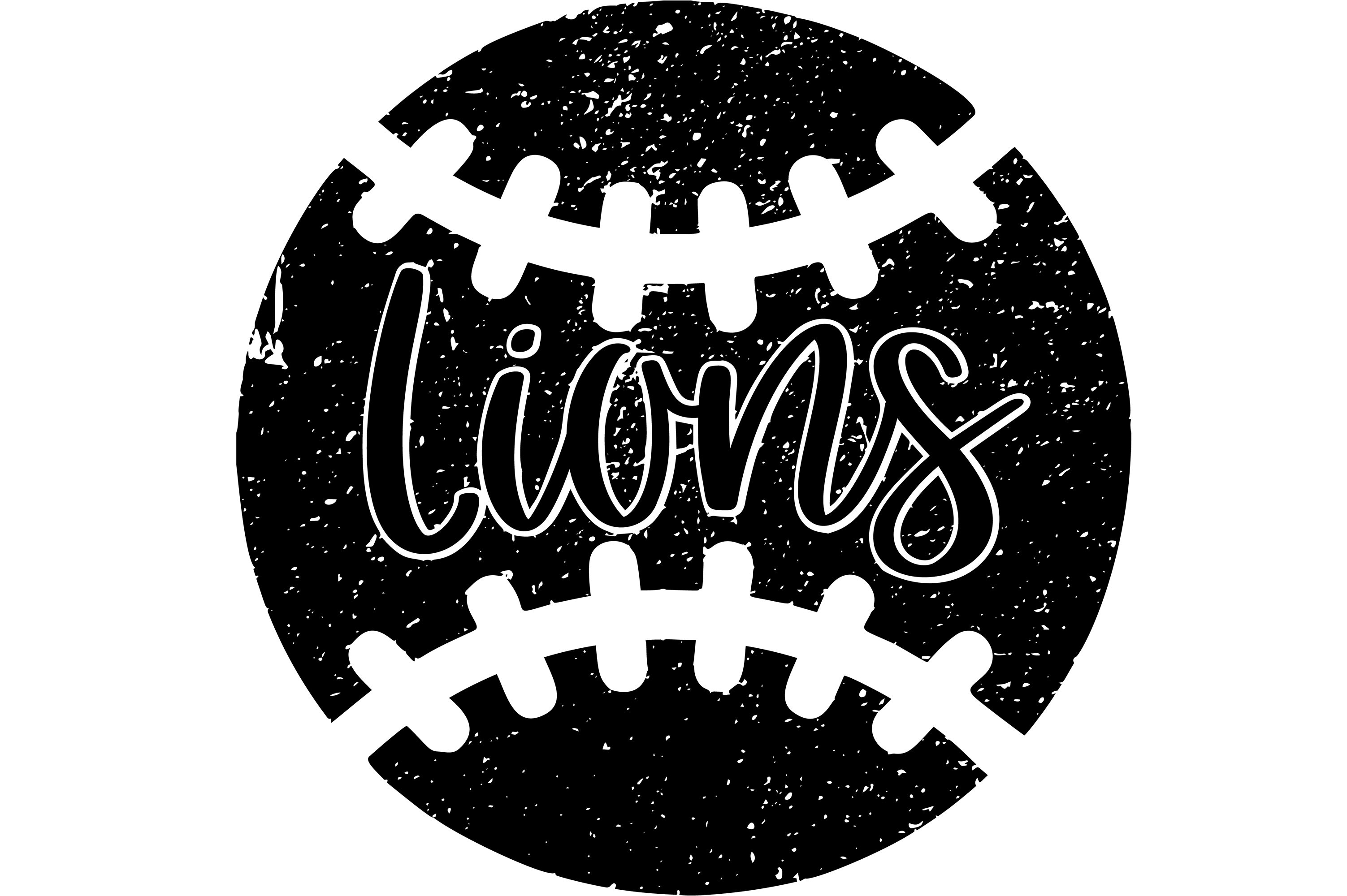 Download Free Lions Distressed Baseball Files Graphic By Am Digital Designs SVG Cut Files