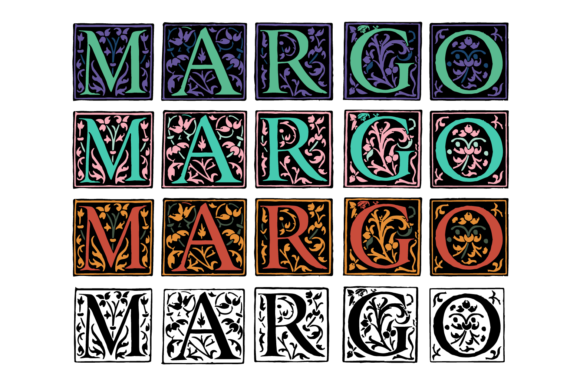 Print on Demand: Margo Display Font By yai.salinas