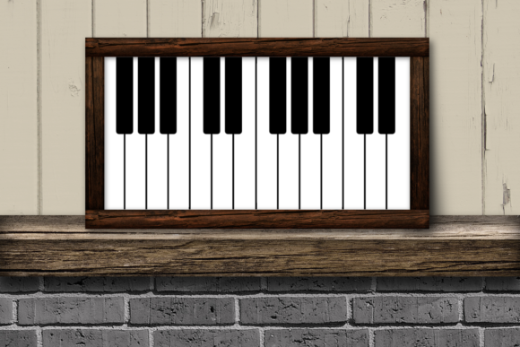 Music Can Change The World Piano Key Graphic By Designedbygeeks