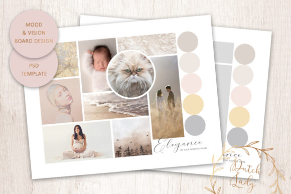 Download Free Psd Mood Vision Board Template 10 Graphic By Daphnepopuliers for Cricut Explore, Silhouette and other cutting machines.