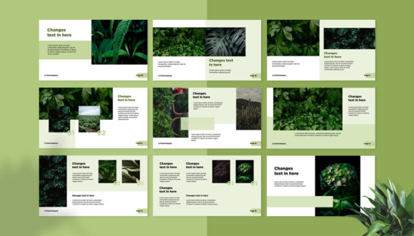 Presentation Design Template - Grenesty Graphic Presentation Templates By fadilahridwan69 - Image 3