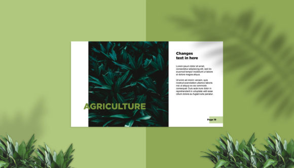 Presentation Design Template - Grenesty Graphic Presentation Templates By fadilahridwan69 - Image 5