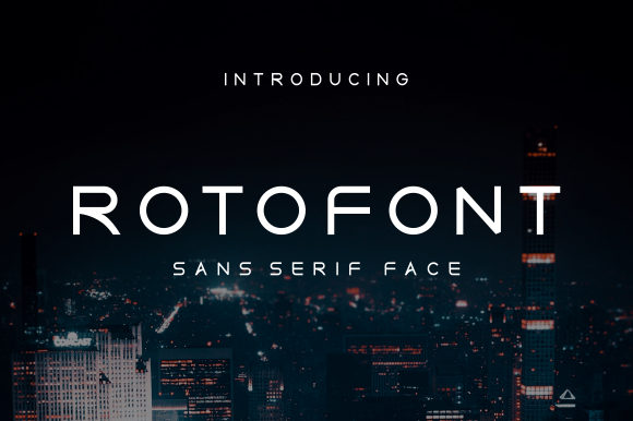 Print on Demand: Roto Sans Serif Fuente Por CreativeKiller
