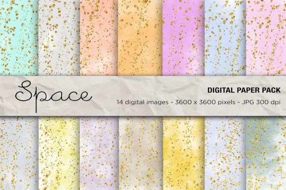 Download Free Space Digital Papers Galaxy Background Graphic By Mertakdere19 for Cricut Explore, Silhouette and other cutting machines.
