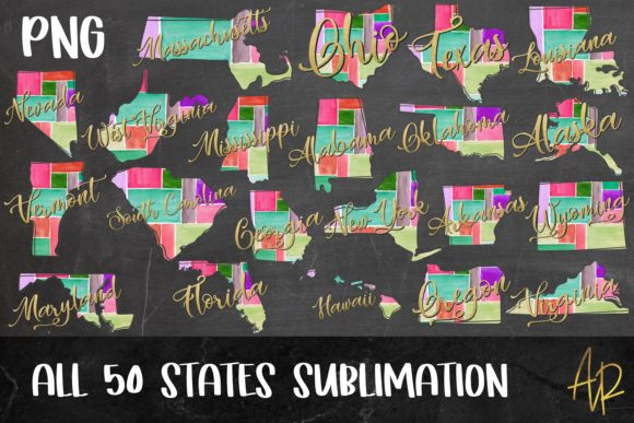 United States Maps 300 File Bundle Graphic Graphic Templates By Anayah's Room - Image 2