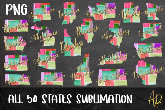 United States Maps 300 File Bundle Graphic Graphic Templates By Anayah's Room - Image 3