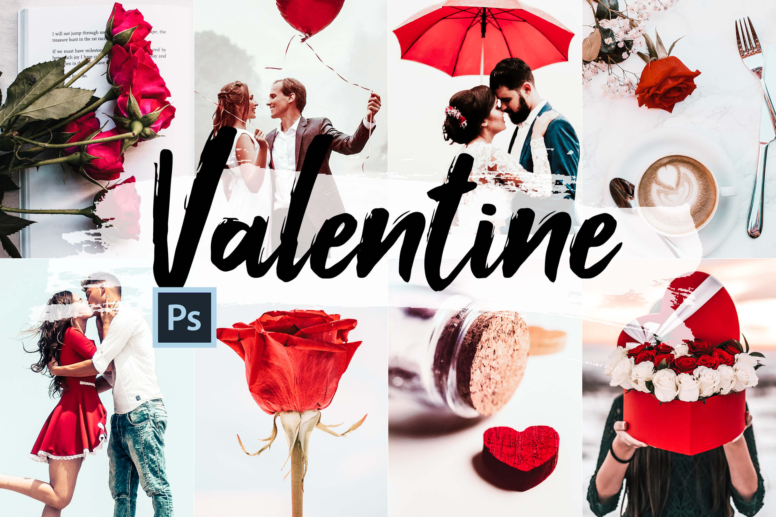 Download Free Valentine Photoshop Actions Acr And Lut Graphic By 3motional for Cricut Explore, Silhouette and other cutting machines.