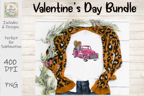 Print on Demand: Valentines Day Bundle, Be Mine, Gnomes Graphic Print Templates By You Make It Personal - Image 4