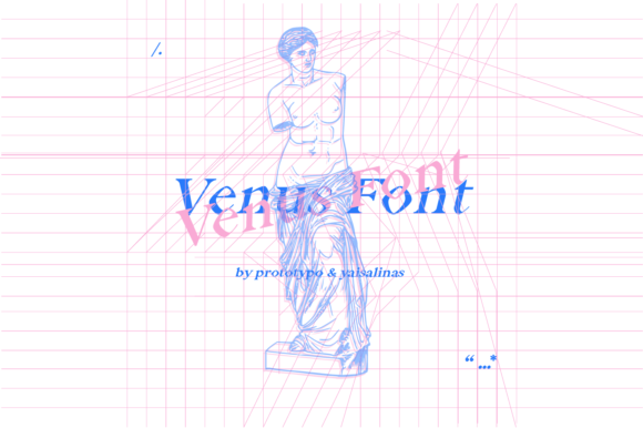 Print on Demand: Venus Serif Font By yai.salinas