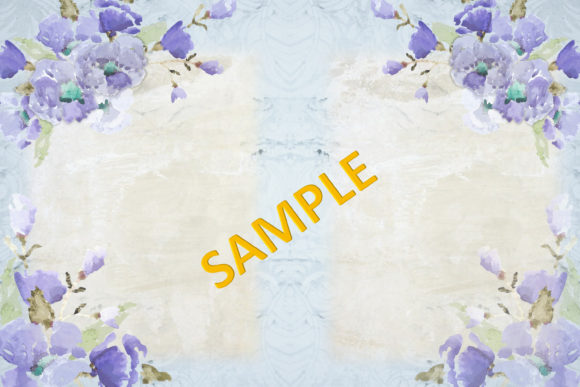Print on Demand: Watercolour Poppy Backgrounds Graphic Backgrounds By The Paper Princess - Image 3