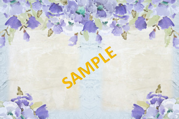 Print on Demand: Watercolour Poppy Backgrounds Graphic Backgrounds By The Paper Princess - Image 9