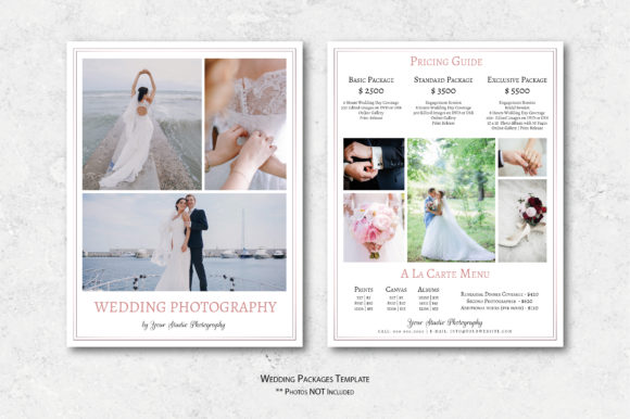 Download Free Wedding Photography Marketing Set Graphic By Designcafeart SVG Cut Files