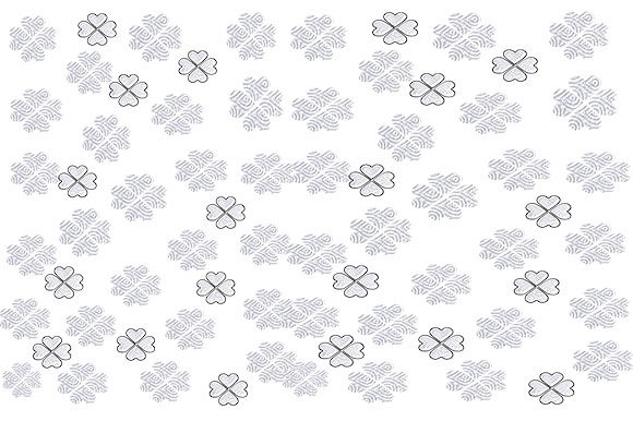 Print on Demand: White Floral Pattern Graphic Patterns By arts4busykids