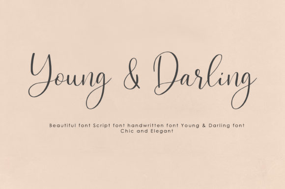 Download Free Young Darling Font By Prototype Studio Creative Fabrica for Cricut Explore, Silhouette and other cutting machines.