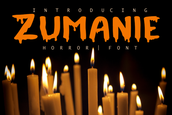 Print on Demand: Zumanie Display Font By fontkong