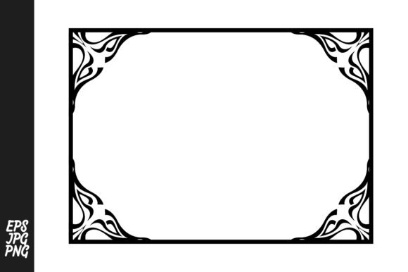 Download Free Frame Border Ornament Vector Decoration Graphic By Arief Sapta SVG Cut Files