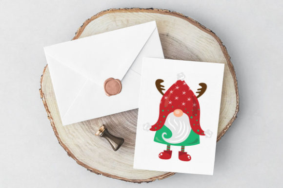 Gnome Christmas Craft Cut File By Creative Fabrica Crafts - Image 3