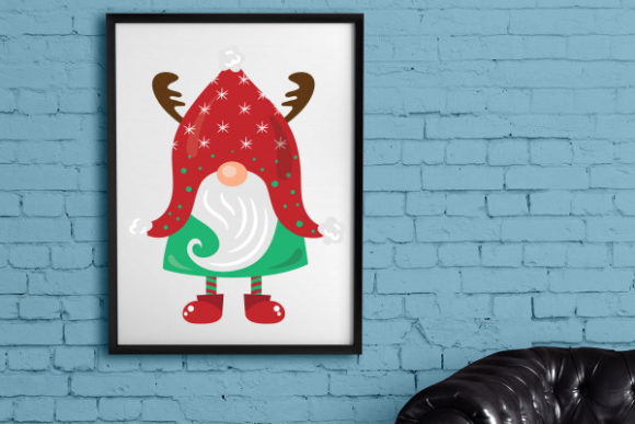 Gnome Christmas Craft Cut File By Creative Fabrica Crafts - Image 8