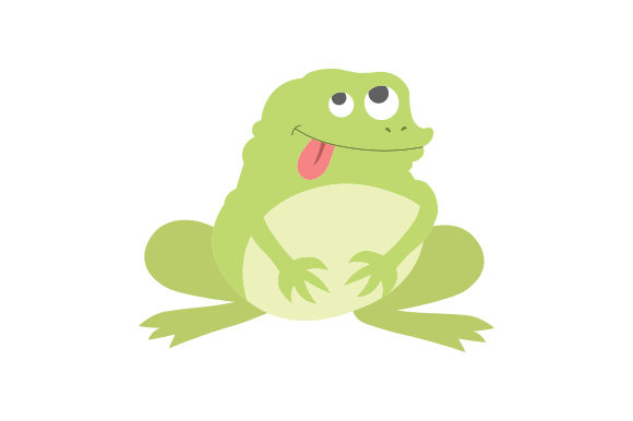 Funny Frog Animals Craft Cut File By Creative Fabrica Crafts