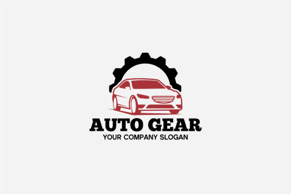 Print on Demand: AUTO GEAR LOGO Graphic Logos By shazdesigner