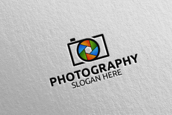 Download Free Abstract Camera Photography Logo 7 Graphic By Denayunecf for Cricut Explore, Silhouette and other cutting machines.