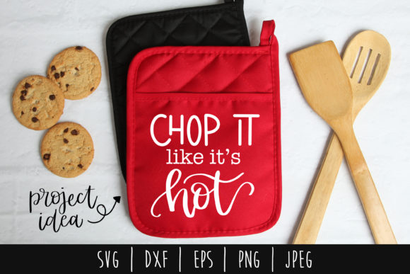 Download Free Chop It Like It S Hot Graphic By Savoringsurprises Creative SVG Cut Files