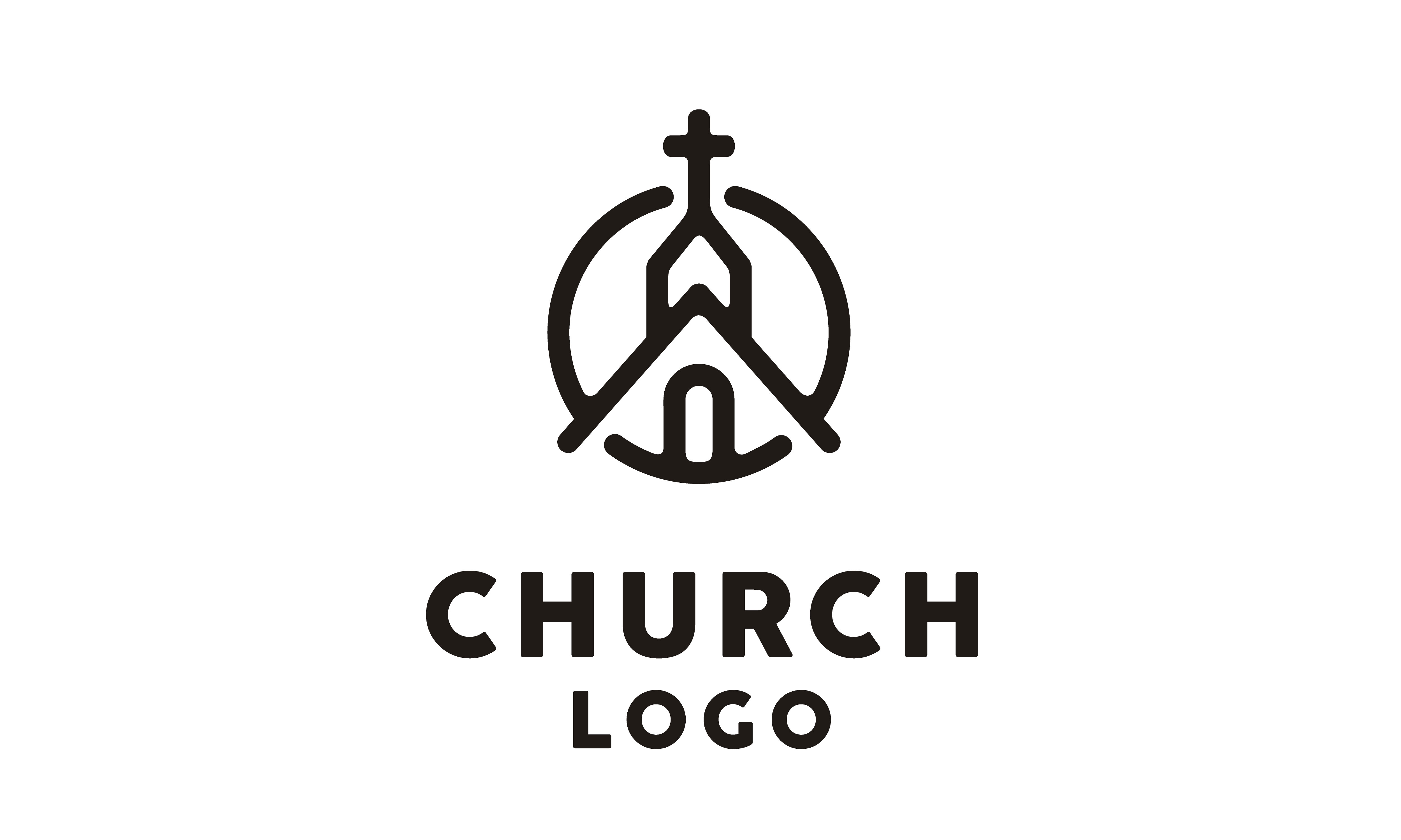 Download Free Church Building Catholic Christian Cross Graphic By Enola99d for Cricut Explore, Silhouette and other cutting machines.