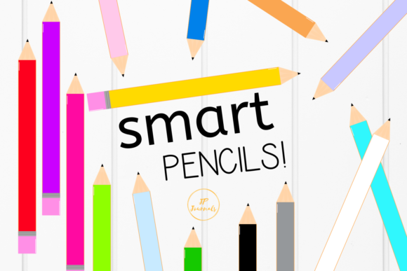 Print on Demand: Colorful Pencils - School Supplies Graphic Illustrations By jpjournalsandbooks