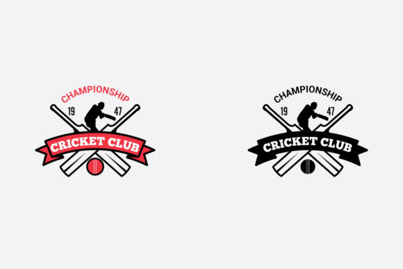 Download Free Cricket Logo Badge Graphic By Octopusgraphic Creative Fabrica for Cricut Explore, Silhouette and other cutting machines.