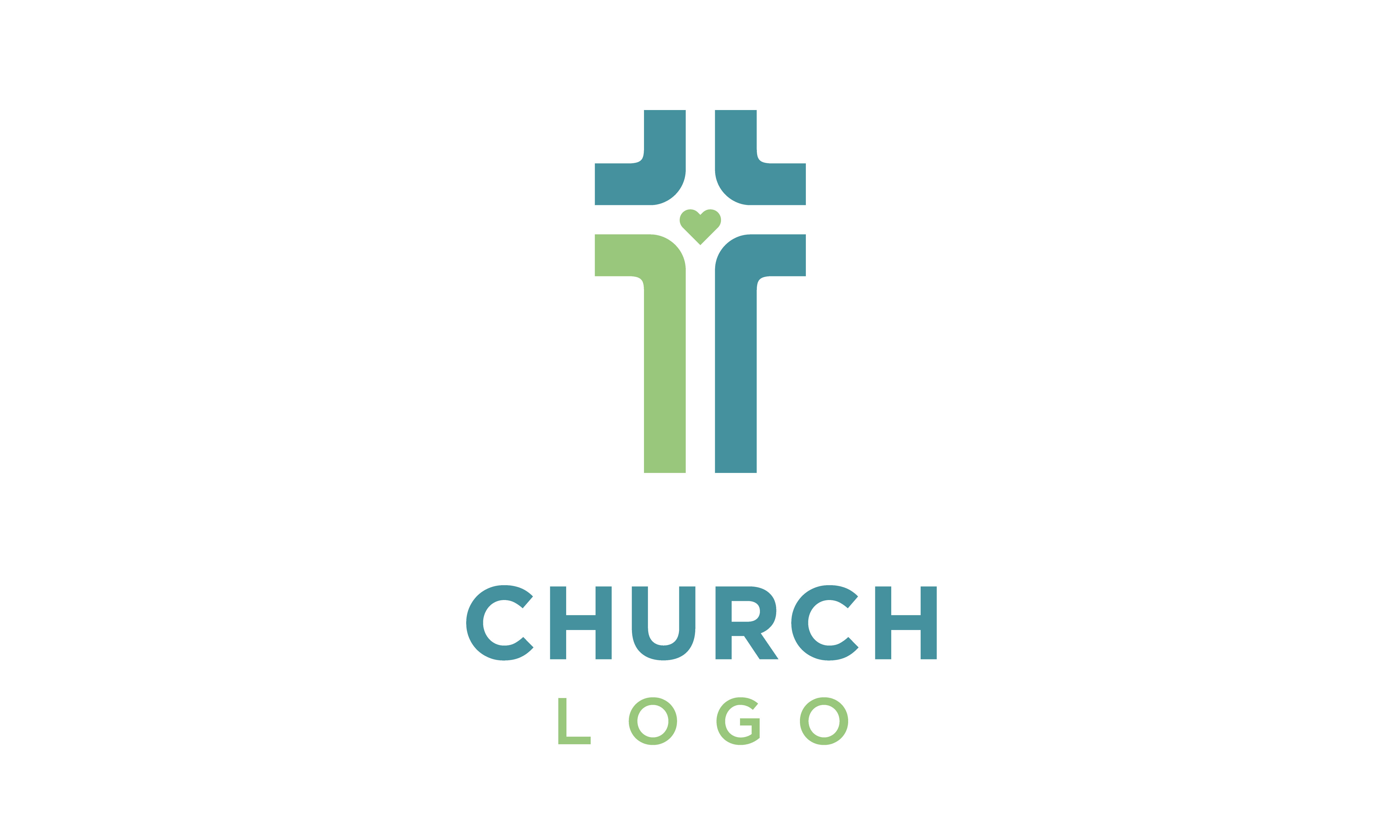 Download Free Crossroad Heart Christian Cross Logo Graphic By Enola99d for Cricut Explore, Silhouette and other cutting machines.