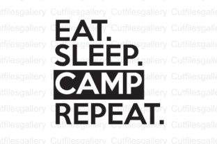 Download Free Eat Sleep Camp Repeat Svg Graphic By Cutfilesgallery Creative for Cricut Explore, Silhouette and other cutting machines.