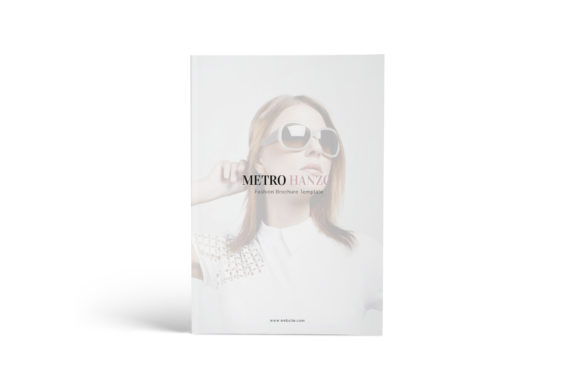 Download Free Fashion A4 Brochure Template Grafico Por Formatikastd Creative for Cricut Explore, Silhouette and other cutting machines.
