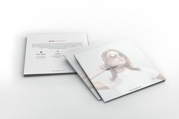 Download Free Fashion Square Brochure Template Graphic By Formatikastd Creative Fabrica for Cricut Explore, Silhouette and other cutting machines.