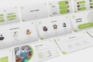 Food Powerpoint Template Graphic Presentation Templates By formatikastd