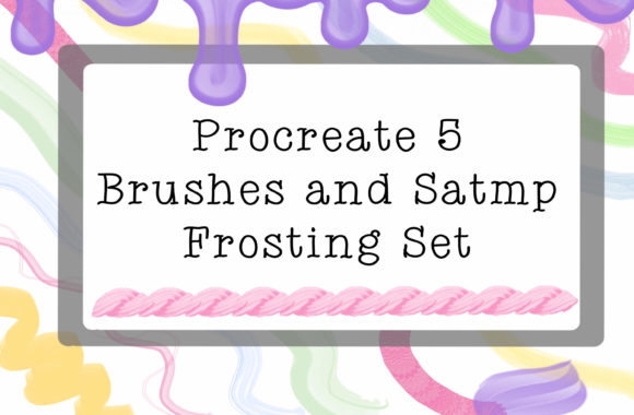 Print on Demand: Frosten Sweet Procreate Brushs Graphic Brushes By ashley_lynne18
